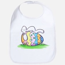 Sleeping Easter Bunny Bib