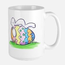 Sleeping Easter Bunny Mugs