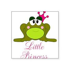 Little Princess Frog Sticker