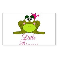Little Princess Frog Decal