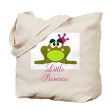Little Princess Frog Tote Bag