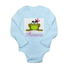 Pink Crowned Frog Princess Body Suit