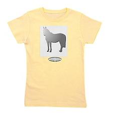 Horse Theme Design by Chevalinite Girl's Tee