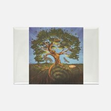 Cute Tree life Rectangle Magnet (100 pack)