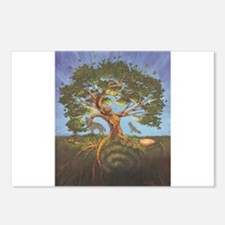 Funny Tree life Postcards (Package of 8)