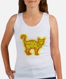 Chinese food cat Women's Tank Top