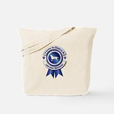 Showing Labrador Tote Bag