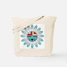 Hopi Sunface Tote Bag