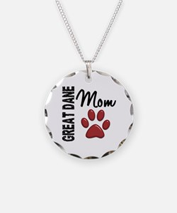 Great Dane Mom 2 Necklace