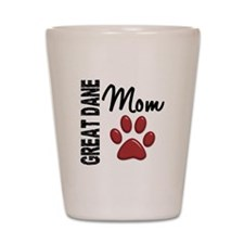 Great Dane Mom 2 Shot Glass