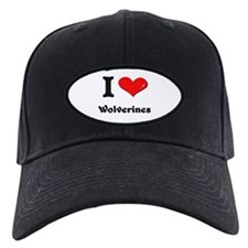 I love wolverines Baseball Hat