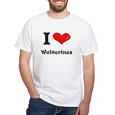 I love wolverines Shirt