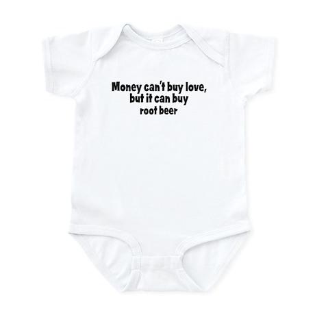 root beer (money) Infant Bodysuit