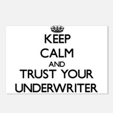 Keep Calm and Trust Your Underwriter Postcards (Pa