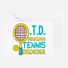 Funny Tennis Greeting Card