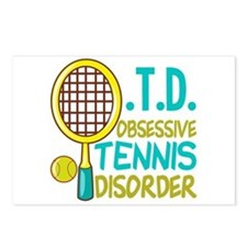 Funny Tennis Postcards (Package of 8)