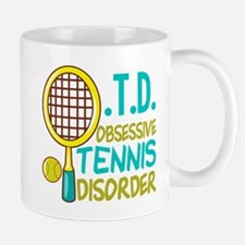 Funny Tennis Small Small Mug