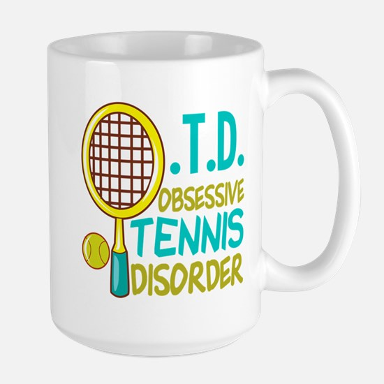 Funny Tennis Large Mug