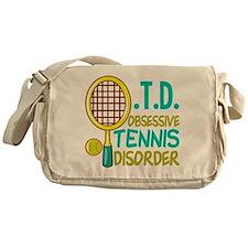 Funny Tennis Messenger Bag