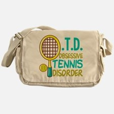 Funny Tennis Messenger Bag