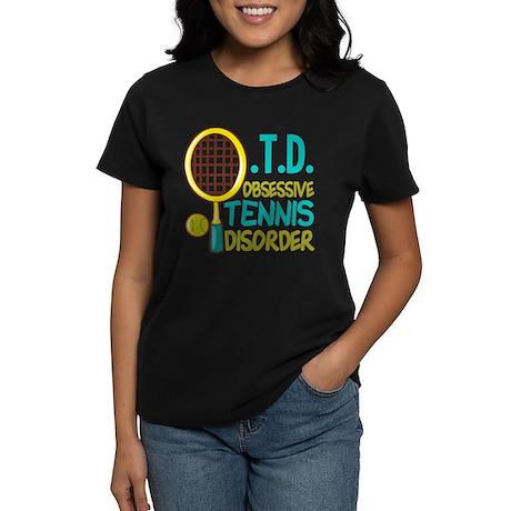 Funny Tennis Women's Dark T-Shirt