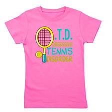 Funny Tennis Girl's Tee