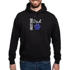 Great Dane Dad 2 Hoodie