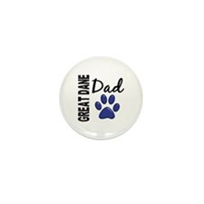 Great Dane Dad 2 Mini Button (10 pack)