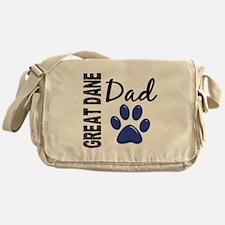 Great Dane Dad 2 Messenger Bag