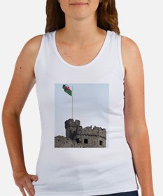 welsh red dragon flag Women's Tank Top