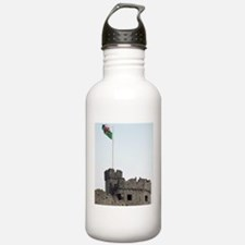 welsh red dragon flag Water Bottle