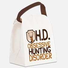 Funny Hunting Canvas Lunch Bag