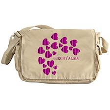 FIBROMYALGIA HEARTS Messenger Bag