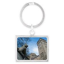 castle clock tower Landscape Keychain