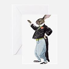 Vintage Rabbit Greeting Cards
