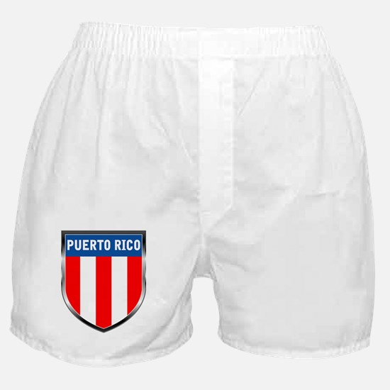Puerto Rico Shield Boxer Shorts