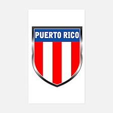 Puerto Rico Shield Decal