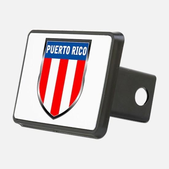 Puerto Rico Shield Hitch Cover
