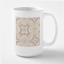 Vintage Antique Victorian Flourish Mugs