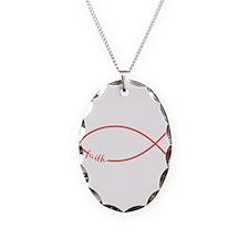 Cayenne Christian Faith Fish Necklace Oval Charm