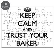 Keep Calm and Trust Your Baker Puzzle