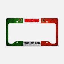 Flag Of Mexico License Plate Holder