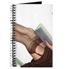 Librarian Student Pin Up Girl Journal