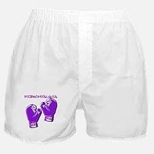 FIBROMYALGIA FIGHT HOPE Boxer Shorts
