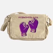 FIBROMYALGIA FIGHT HOPE Messenger Bag