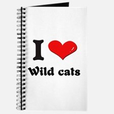 I love wild cats Journal