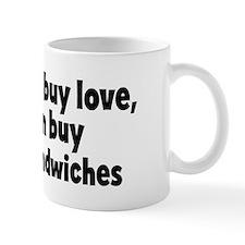 meatloaf sandwiches (money) Mug