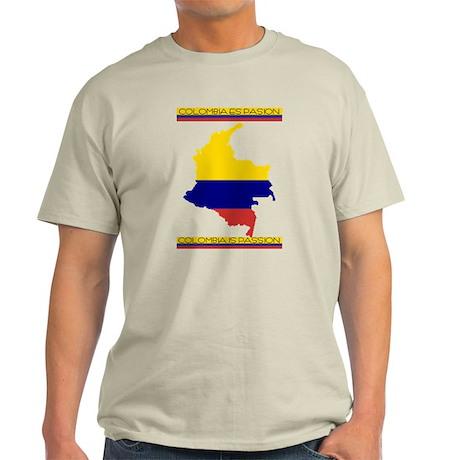 Colombia es pasion Light T-Shirt