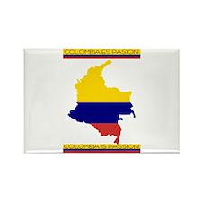 Colombia es pasion Rectangle Magnet