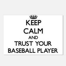 Keep Calm and Trust Your Baseball Player Postcards